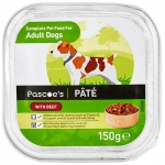 Adult dog pâté with beef