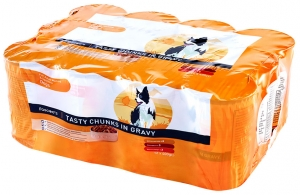 Working Dog 12 pack chunks in gravy
