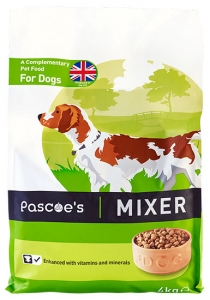 Pascoe's dry mixer for dogs